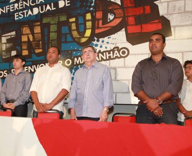 GOVERNADOR PARTICIPA DA ABERTURA DA II CONFERÊNCIA ESTADUAL DE JUVENTUDE