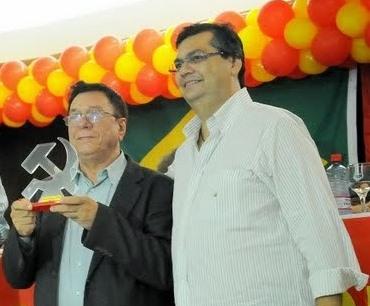 Julião Amim e Flávio Dino