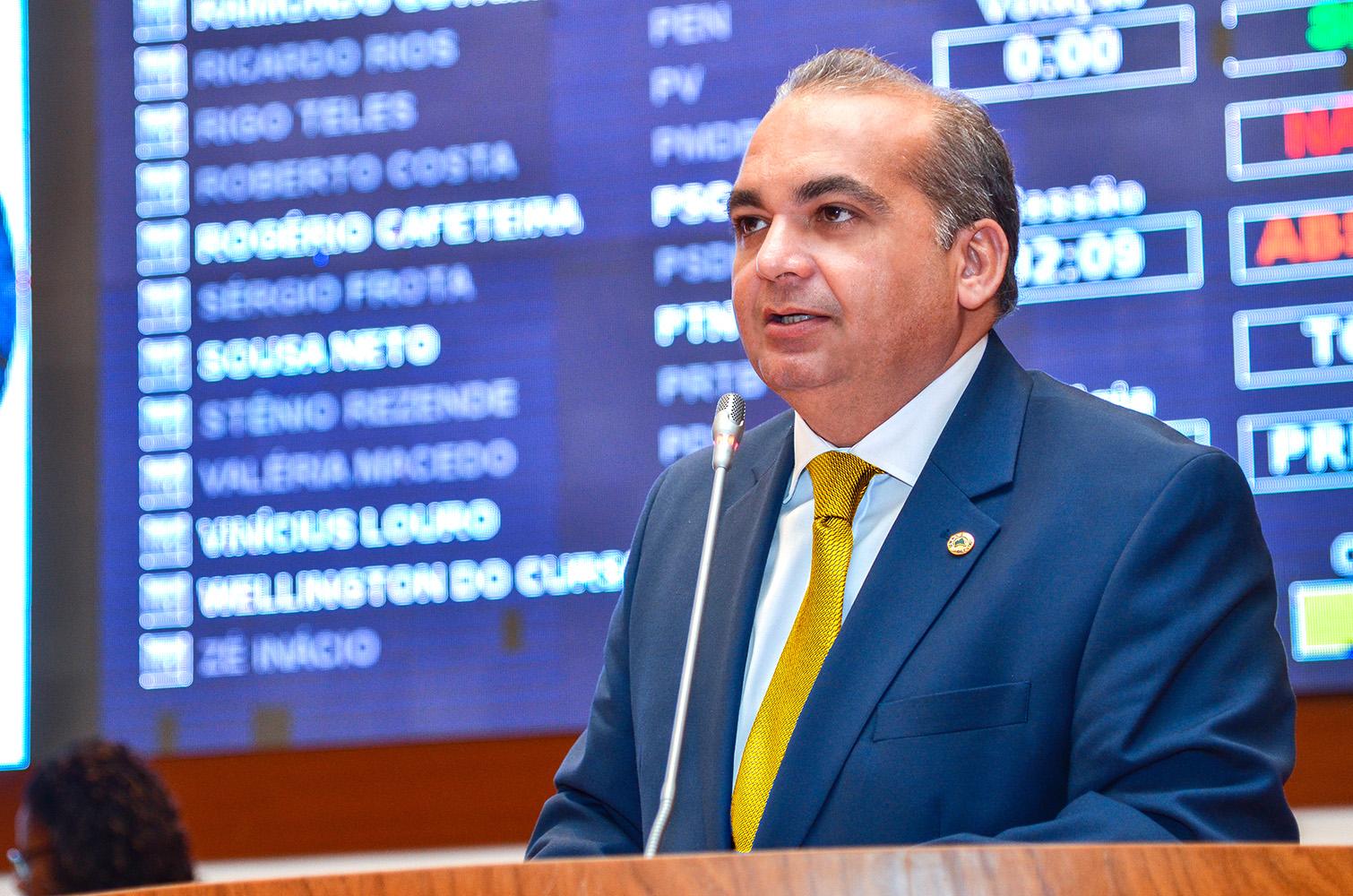 Deputado estadual Fábio Braga
