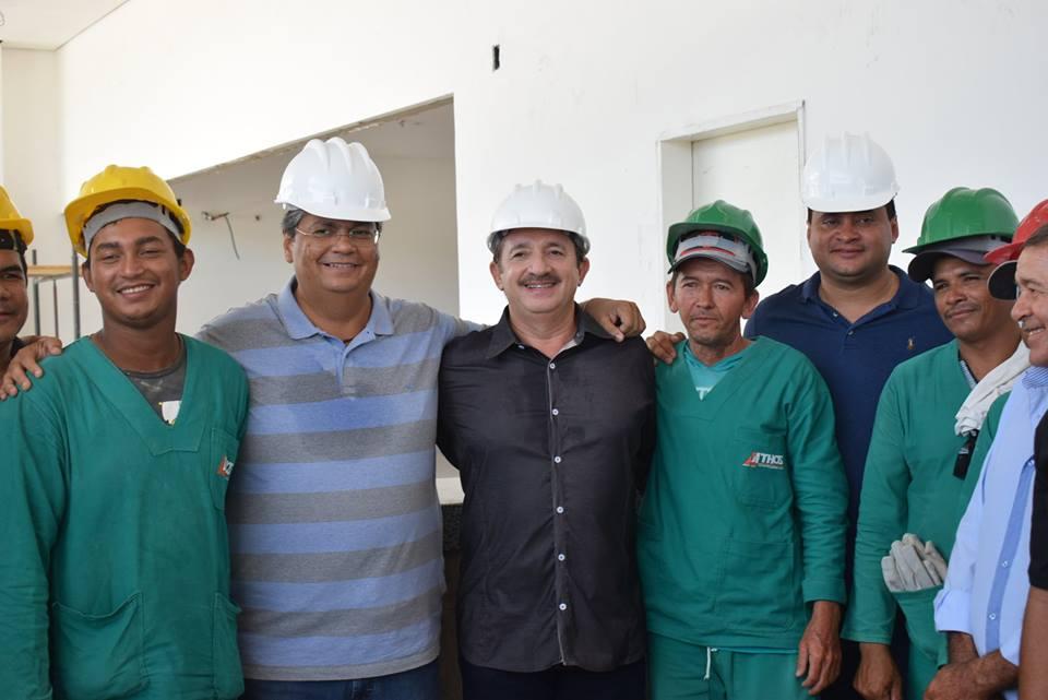 Resultado de imagem para construção do hospital Regional de Chapadinha Extrato de Contrato